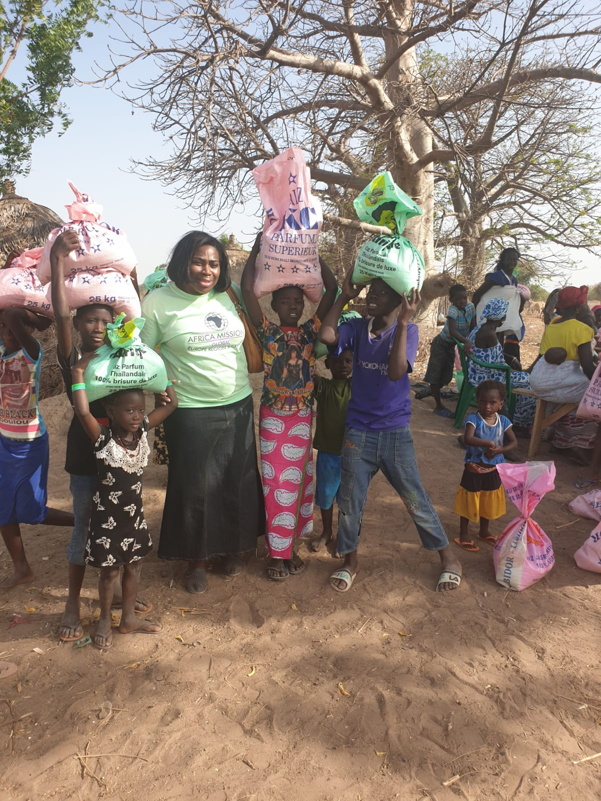 DWC donates to support the work of Africa Missions in Senegal